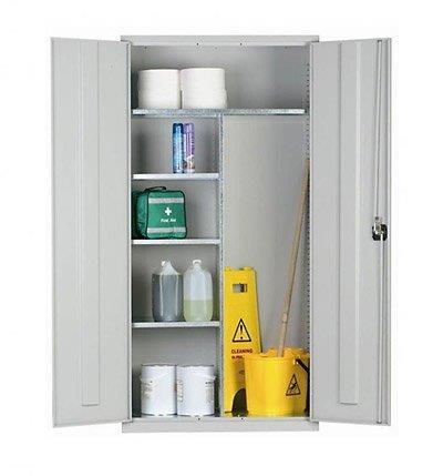 GW Janitorial Steel Cupboard
