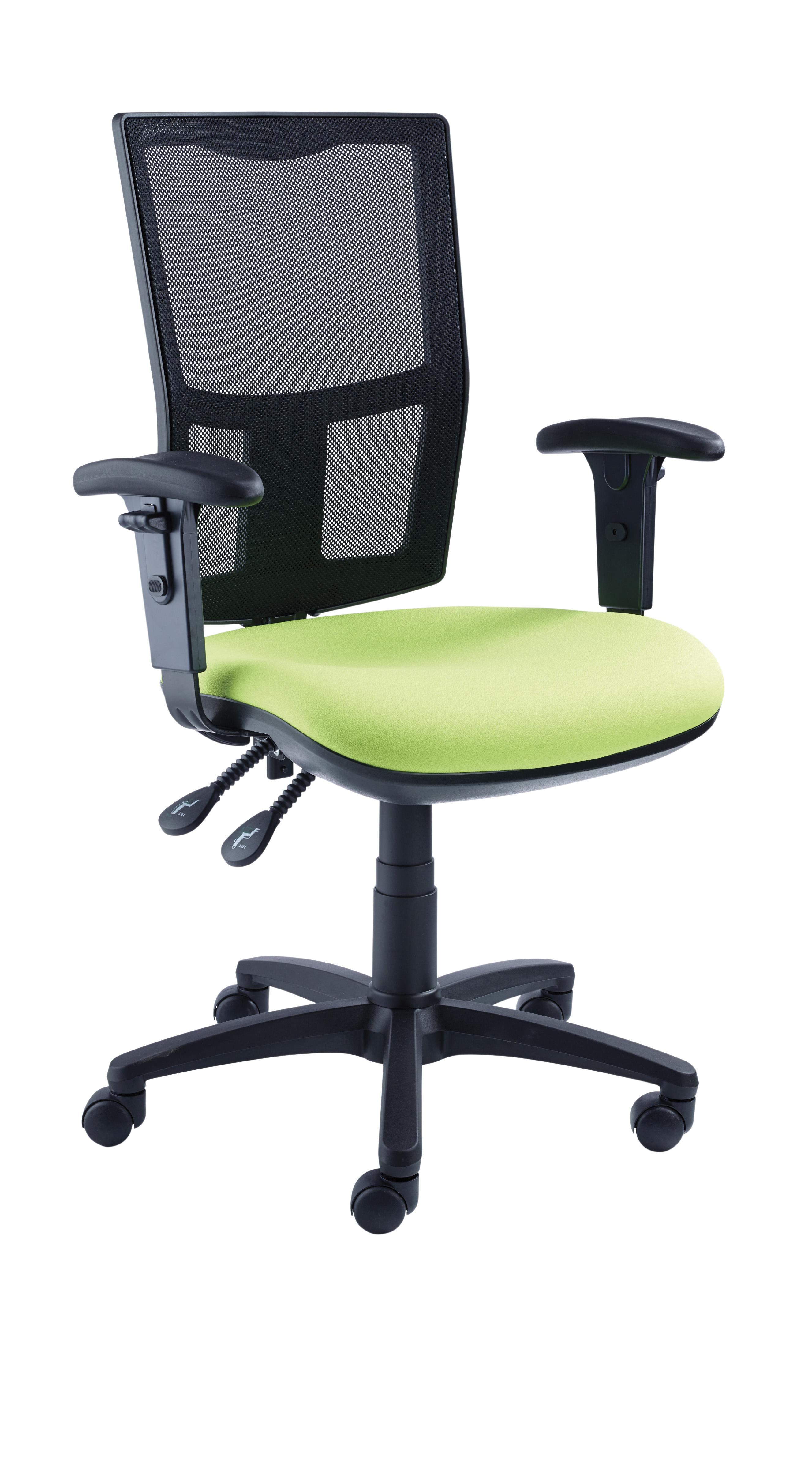 Touch Mesh High Back Black Chair