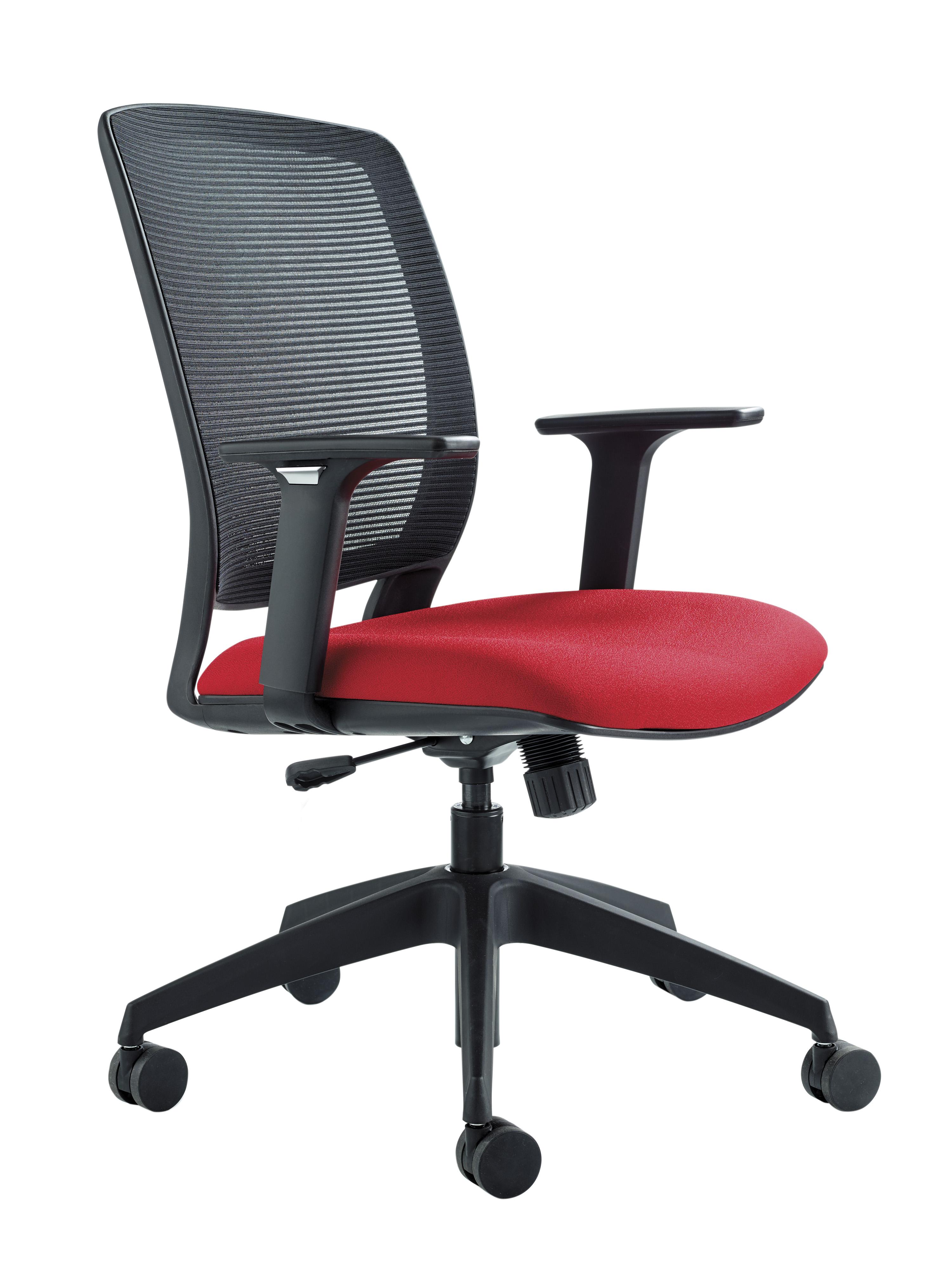 Zonda Mesh High Back Black Chair